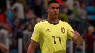 PS4 FIFA 18 Gameplay France vs Belgium [HD]