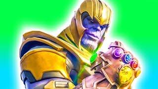 1v1 against Thanos! ⚡️ Fortnite Battle Royale Infinity Gauntlet Gameplay PC