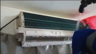 DIY cuci ac Daikin cina anti bocor free leak secara profesional