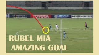 Rubel Mia Amazing Goal, Dhaka Abahani 2-0 Bengaluru FC