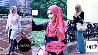 Muslimah Trending Fashion in Malaysia