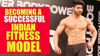 Becoming a successful Indian fitness model