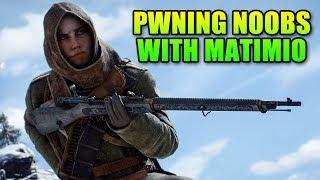 Snarky-Field 1 - LevelCap & Matimio Kill Things | Battlefield 1
