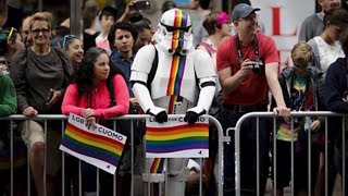 Gay Pride Parade Goes Wild After Same- Sex Marriage Is Made Legal In America