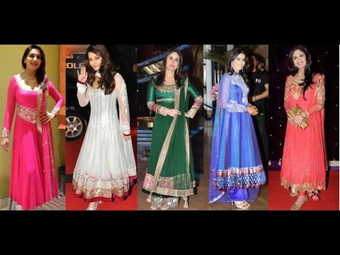 Bollywood Female Actors In Ethnic Wear - Full Indian Desi Style [HD VIDEO]