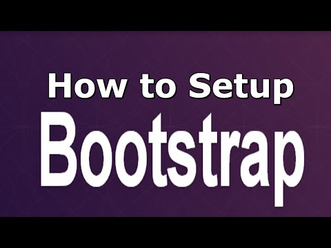 (1) Bootstrap 3.1 Tutorial - Sublime, Bootstrap Files, Preliminary Set-up