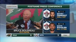 Bruce Boudreau won