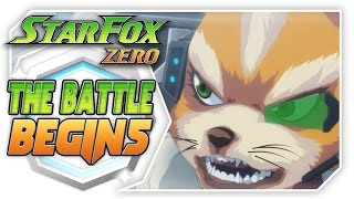 Star Fox Zero: The Battle Begins!  Full Animated Movie + Treehouse Presentation With Abdallah!