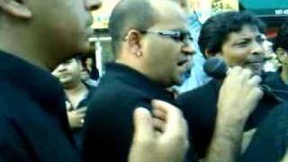 Naeem Abbas Rufi Juloos e Imam ALi New York 2009