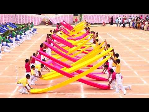 Xxx Mp4 Saree Drill Satin Cloth Display Sports Day Celebration 2018 3gp Sex