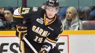 Pavel Zacha #13 | Sarnia Sting/ U18 WJC Highlights