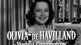 THE SNAKE PIT (1948) trailer. Starring OLIVIA DE HAVILLAND.