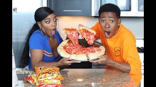 COOKING WITH DK4L | HOW TO MAKE A JUMBO FLAMIN