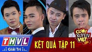 THVL | Cười xuyên Việt 2016 - Tập 11: Kết quả