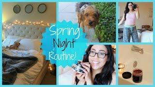 SPRING NIGHT ROUTINE! // Kayla Lashae