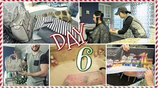Henri B Gift, Haircutting + Lush Holiday Bath   Vlogcember Day 6 ,2016🎄