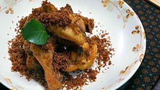 Inilah Resep Renyah Ayam Goreng Serundeng! DiJamin Mak Nyuzzz● Resep Masakan