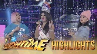 It's Showtime Miss Q & A: President Ganda shocks Vice Ganda and Anne