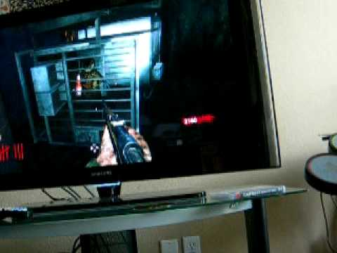 Call of Duty World at War Nazi zombies Der Riese Fly trap secret hide and seek game