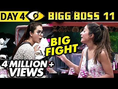 Xxx Mp4 Hina Khan Vs Shilpa Shinde BIG FIGHT Bigg Boss 11 Day 4 Episode 4 5th October 2017 Full Update 3gp Sex