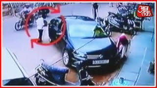 Video Of Thieves Stealing Purse From Car In Jodhpur Gets Captured