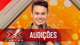 Alessandro Maia mexeu com os corações cantando Cristiano Araújo   X Factor BR