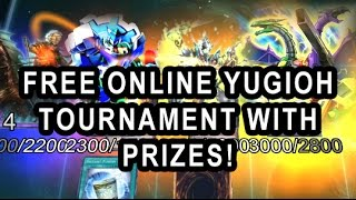FREE ONLINE YUGIOH PRO 2 AND YGO PRO 1 TAG TOURNAMENT WITH PRIZES!