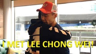 MEETING LEE CHONG WEI, LIN DAN, PETER GADE AND MANY MORE PLAYERS!
