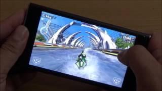 Game test on Obi Worldphone SF1
