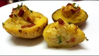 The best baked potatoes - vegan recipe