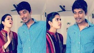 Arun Sanjana Real Couple Funny & Latest Dubsmash | Tamil Girls Dubsmash |