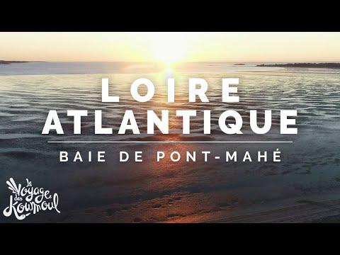 LOIRE ATLANTIQUE Baie de Pont Mahé Le lo drone