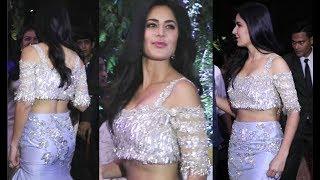 Katrina Kaif HOT At Anushka Sharma And Virat Kohli Wedding Reception In Mumbai