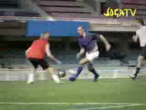 ronaldo vs. zlatan joga bonito