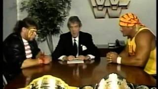 WrestleMania VI Ultimate Challenge Contract Signing (03-25-1990)