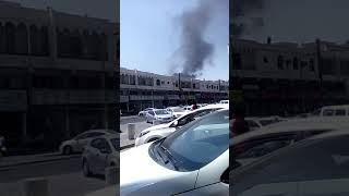 Fire in Qatar