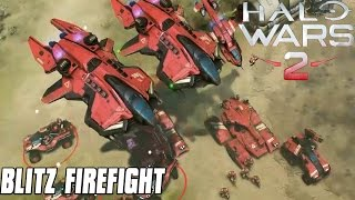 Halo Wars 2 Gameplay - Blitz Firefight - NEW GAME MODE!