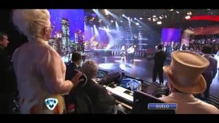 Showmatch 2012 - Así fue el duelo de cumbia