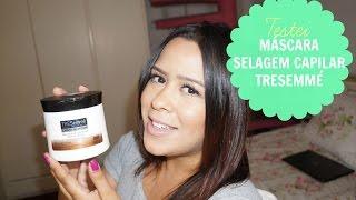 Máscara Selagem Capilar - Crespos Original - TRESemmé (testado em cabelo liso e fino!)