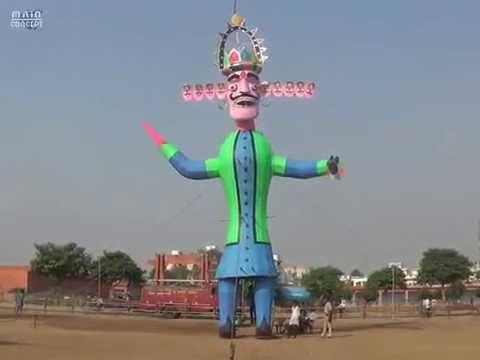 Xxx Mp4 नुमाइश में खड़ा 60 फुट का रावण का पुतला बना लोगों का आकर्षण 3gp Sex