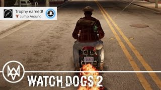 WATCH DOGS 2 · 'Jump Around' Achievement / Trophy Video Guide | PS4