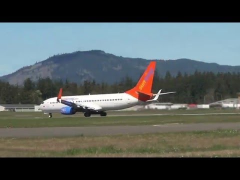 Xxx Mp4 RARE Sunwing Taking Off From YYJ 3gp Sex