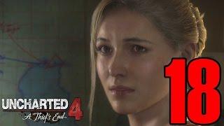 تختيم انشارتد 4 مدبلج عربي - #18 - اسوء سياقة في تاريخ البشرية - Uncharted 4 Walkthrough Gameplay