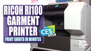 The Ricoh (Anajet) Ri100 Garment Printer