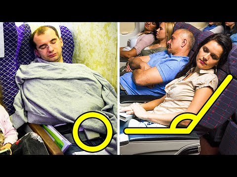 10 Little Known Tricks for Perfect Sleep on a Flight