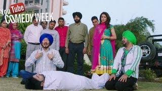 Best Punjabi comedy of 2013 by Jaswinder Bhalla, Guggi - Jatts in Golmaal | Punjabi Movie 2013