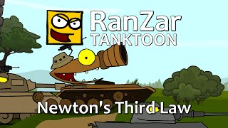 Tanktoon: Newton's Third Law. RanZar