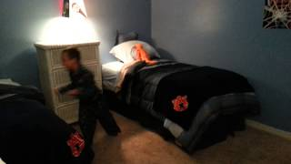 Avery and Carters new room.. birthday surprise!