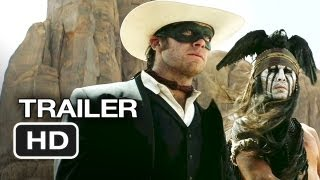 The Lone Ranger Official Trailer #1 (2013) - Johnny Depp Movie HD