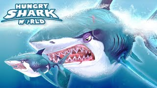 GREAT WHITE GROWTH EVENT!!! - Hungry Shark World | Ep 53 HD